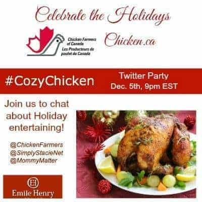 COZY CHICKEN TWITTER PARTY