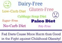 Fad Diets Childhood Obesity