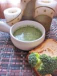 Easy healthy recipe cream of broccoli cheese soup