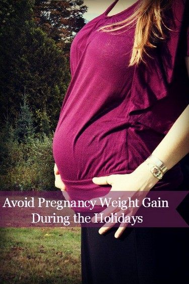 Pregnancy weight gain during holidays