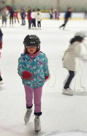 Ice Skating Fight Childhood Obesity