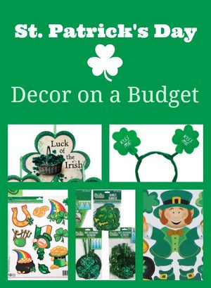 St Patricks Day Decor Dollar Tree