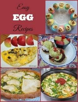 Easy egg recipes