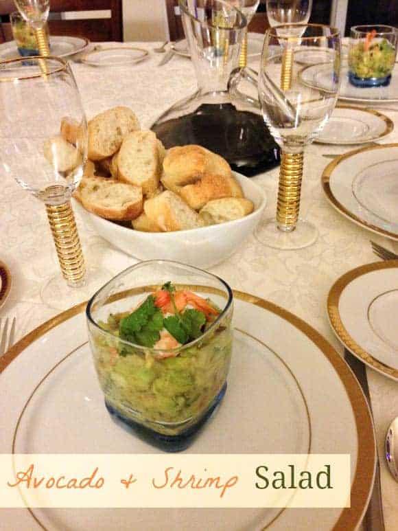 easy healthy recipe shrimp avocado salad