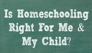Is homeschooling right for me?