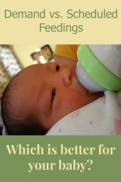 Parenting Tips: Demand Feeding vs. Scheduled Feedings