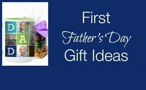First Fathers Day gift ideas