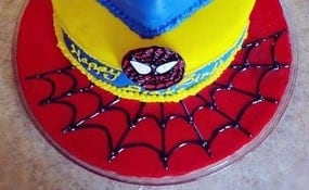 Spiderman Party Cake recipe