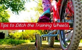 Parenting tips to help kids ditch the training wheels