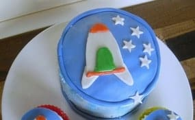 Outer Space Party Cake Recipe