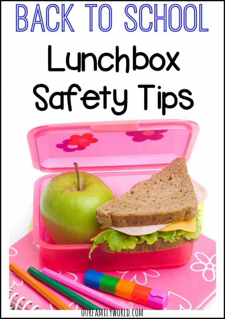 Lunch box food has come a long way since I was a child, but these Back To School Lunchbox Safety Tips have remained the same. Nothing brings back memories of grade school quite like the smell of peanut butter and jelly sandwiches! Whether your child is carrying their lunch every day or only on an occasion, following these back to school lunch box safety tips is a sure way to give them a happy and healthy school year.