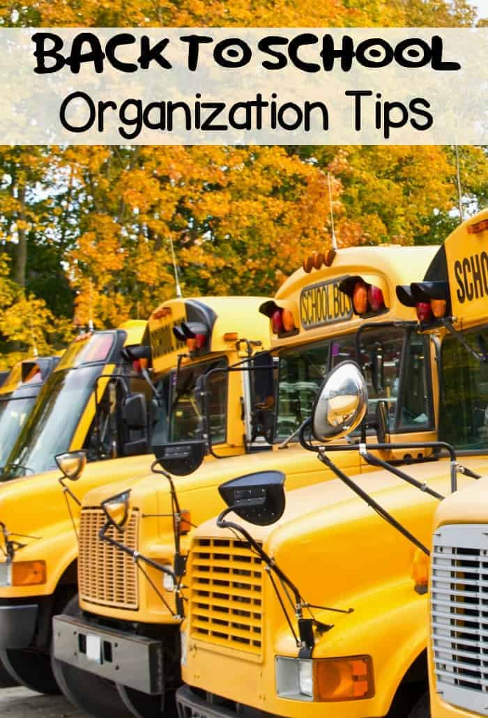 Back to school organization tips ourfamilyworld - Back to school organization ...