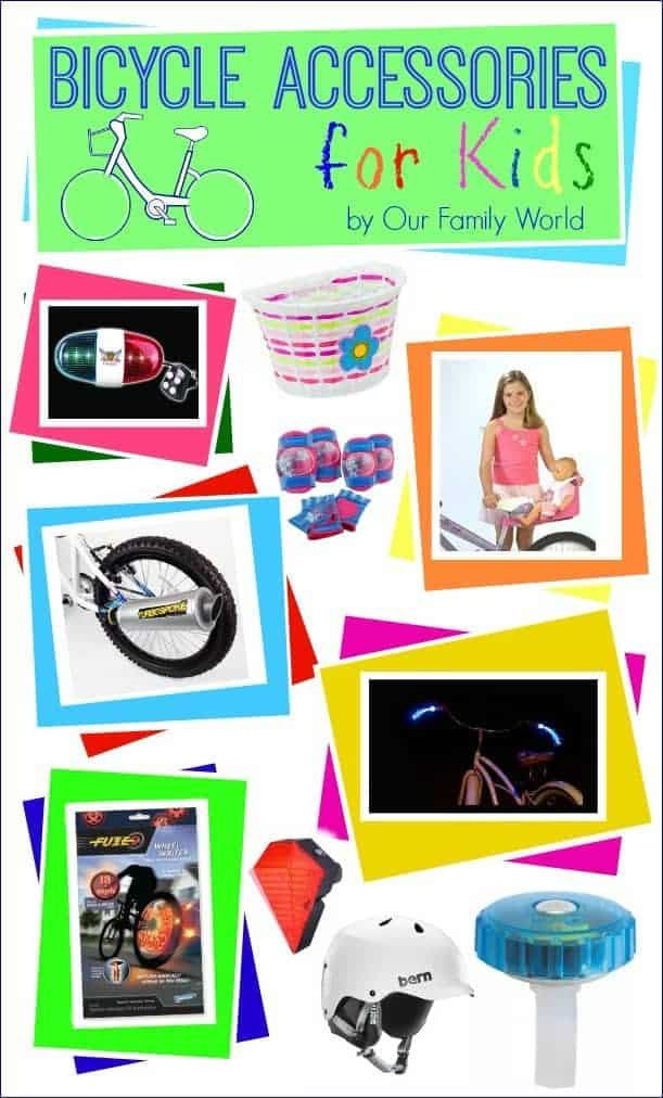 Bicycle Accessories for Kids   OurFamilyWorld