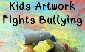 Kids Artwork Fights Bullying