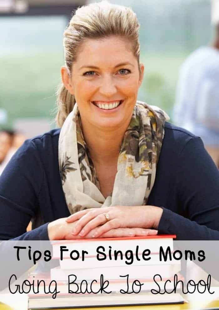 Tips For Single Moms Going Back To School | OurFamilyWorld