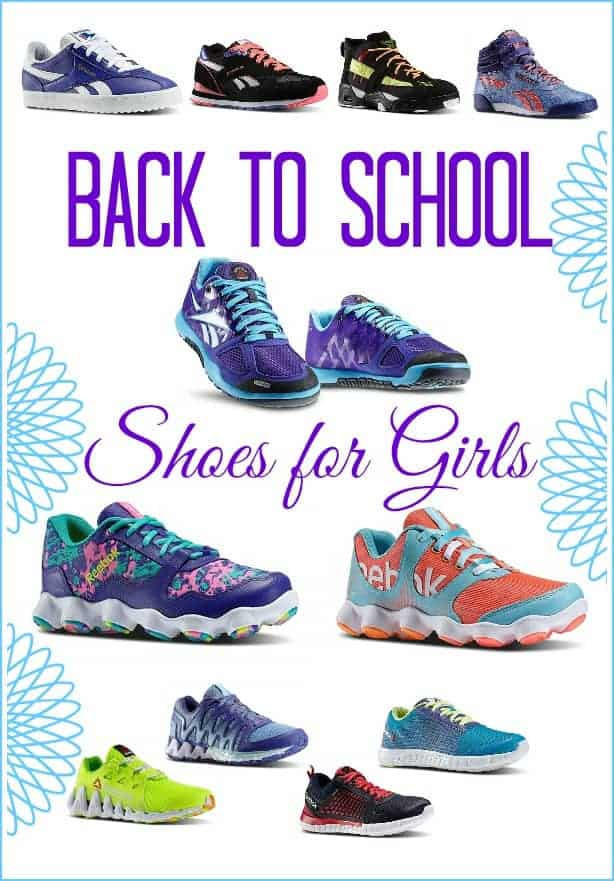 Back to school shoes for girls