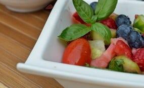 summer salad recipe with orange juice dressing