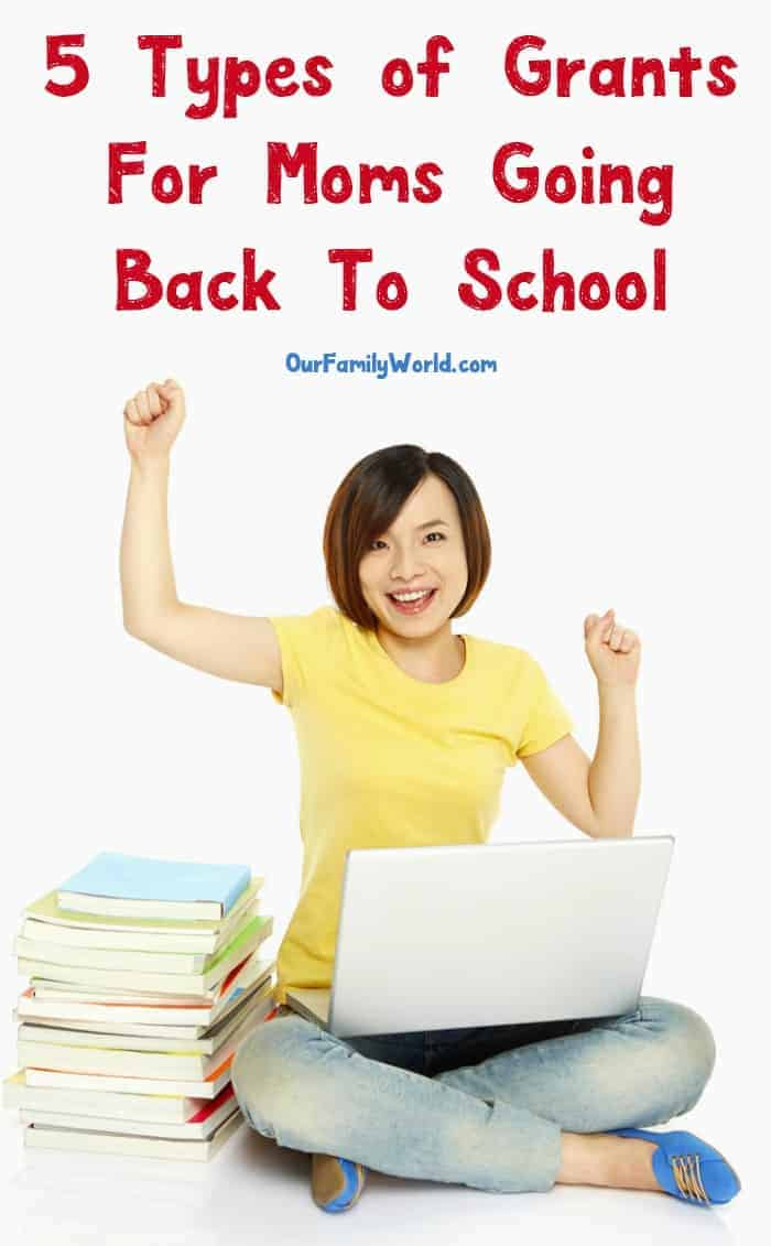 With literally thousands of Grants For Moms Going Back To School available, the financial aspect of going back to school doesn't have to be so difficult. Check out our picks for the top 5 grants!