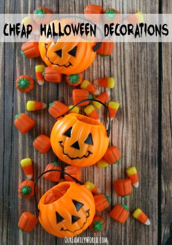 Cheap halloween decorations for your home Cheap home decor on pinterest