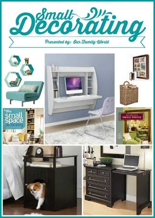 Decorating Small Spaces with Our Family World #SmallDecor #OurFamilyWorld | OurFamilyWorld.com