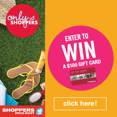 Shoppers Drug Mart $100 Gift Card Giveaway| Open to Canada