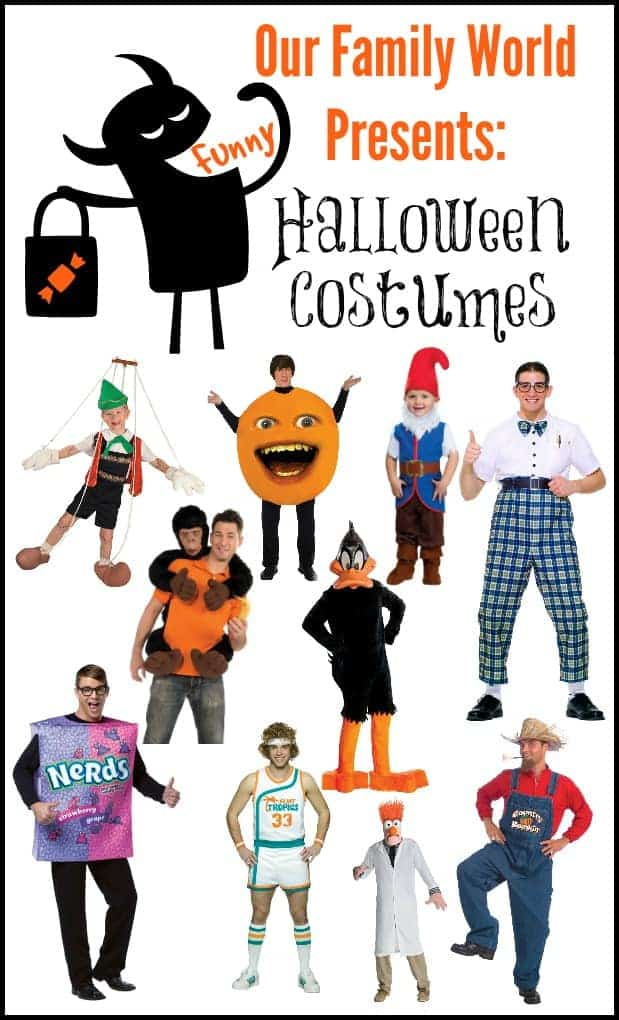 Be the Hit of the Party with these Funny Halloween Costumes | OurFamilyWorld.com