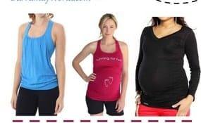 pregnancy workout clothes