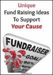 Unique Fund Raising Ideas