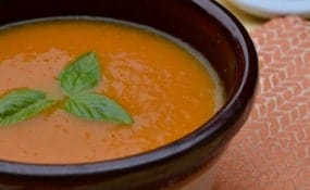 Carrot Maple Soup Easy Healthy Recipe