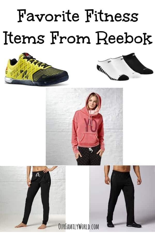 Favorite Fitness Items From Reebok