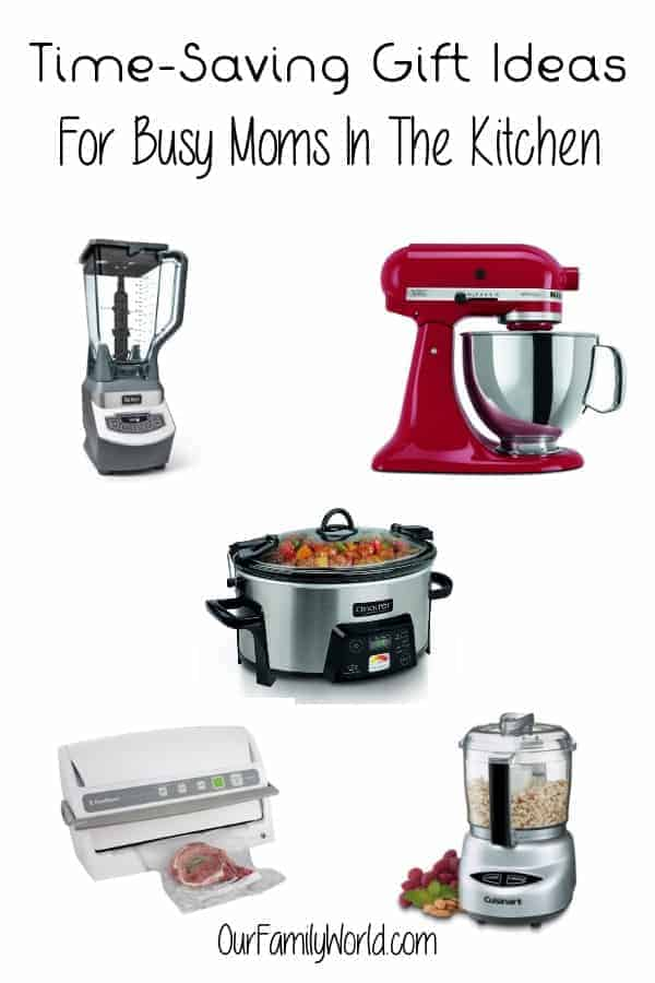 Looking for awesome gift ideas for moms for Christmas? How about these Time-Saving Gift Ideas For Busy Moms In The Kitchen