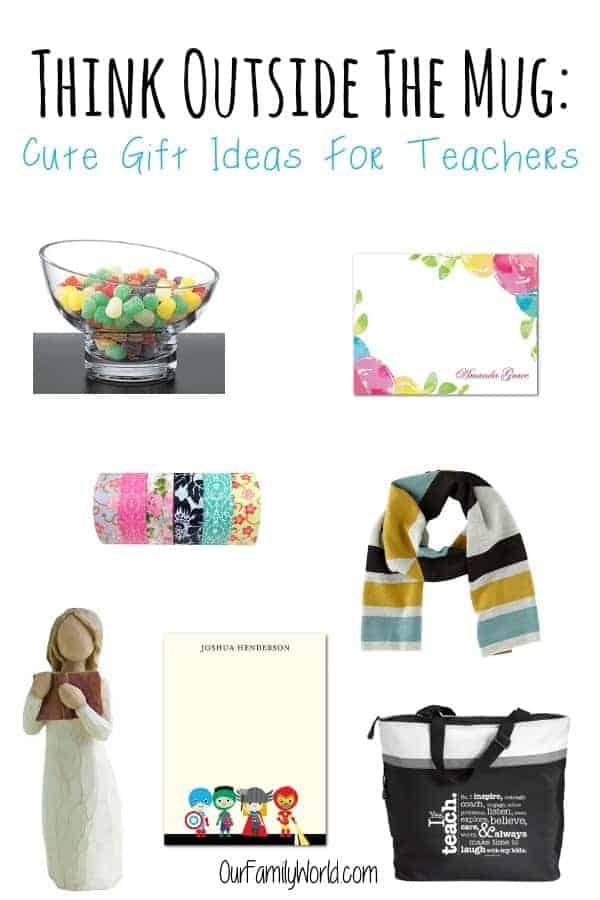 Think Outside The Mug: Cute Gift Ideas For Teachers