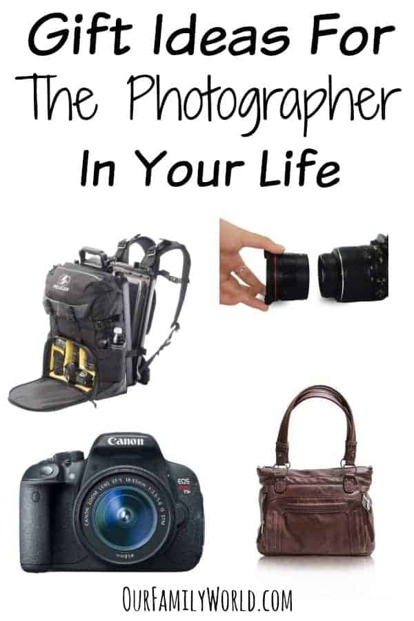Gift Ideas For The Photographer In Your Life