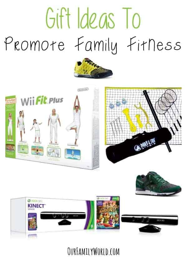 Gift Ideas To Promote Family Fitness