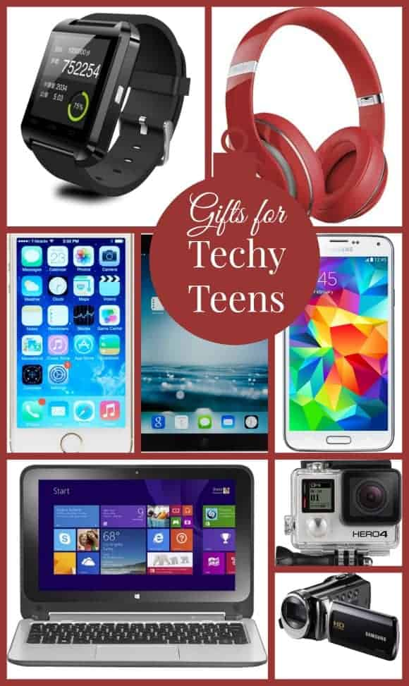 Today most teens are into something in the technology world, and here are our top picks for Gift Ideas For Techy Teens! Not only are these full of the latest hot items in electronics,
