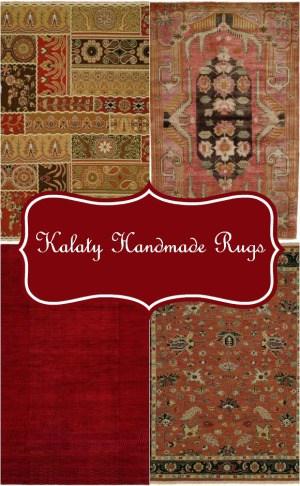 Enhance your home decor with Kalaty Handmade Rugs