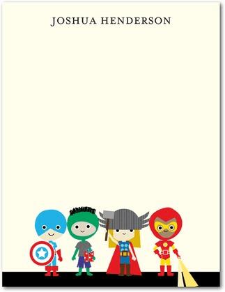 Superhero Teacher Stationary Cute Gift Ideas For Teachers