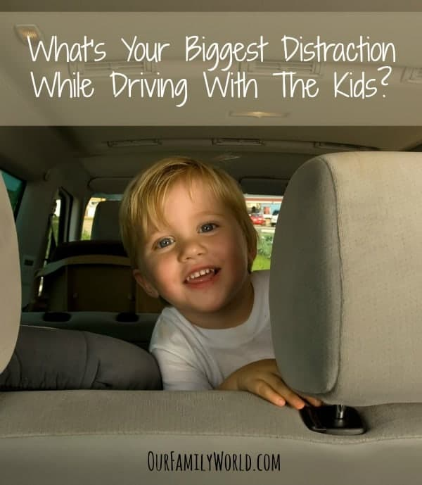 What's Your Biggest Distraction While Driving With The Kids?:  We recently asked you this question, and found some of the same answers as a theme amongst our readers. Check our Parenting Tips to overcome this