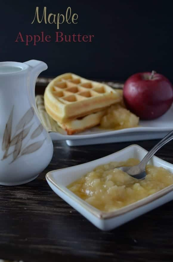Maple Apple Butter Recipe: Easy Fruit Recipe for kids