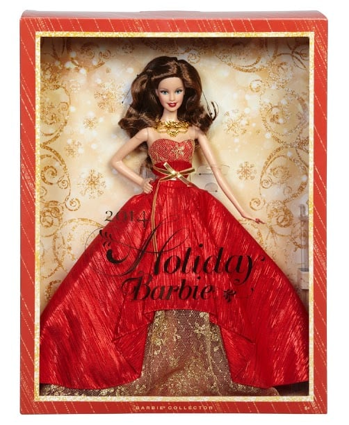 Kmart Fab 15 Holiday Toy List: Holiday Auburn Barbie™ 2014 Doll by Mattel® (Kmart exclusive)