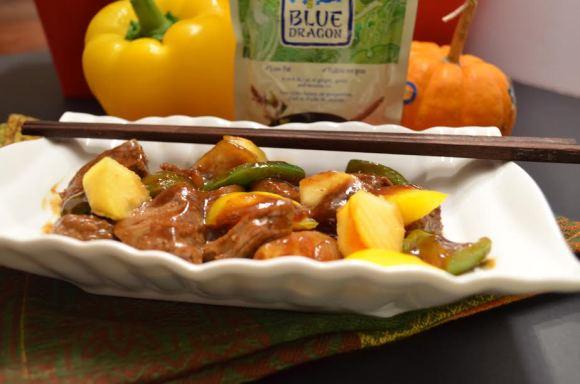 Easy Dinner Recipe: Beef and Pumpkin Stir Fry Recipe