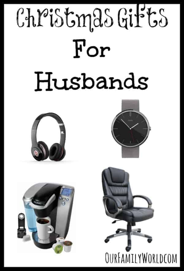 Looking for gift ideas for him? Check out our favorite Christmas gifts for husbands! He'll love them!