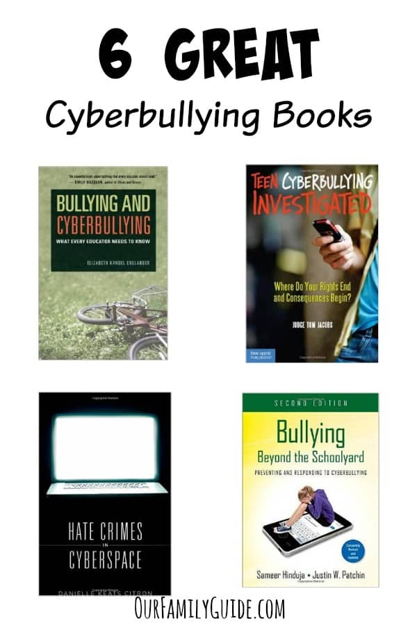 Worried about how you'll handle cyber bullying if it happens to your child? Check out our picks for the six must-read cyberbullying books for teens!