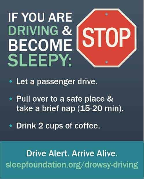 Take the Pledge Against Drowsy Driving & Keep Your Family Safe #drowsydriving