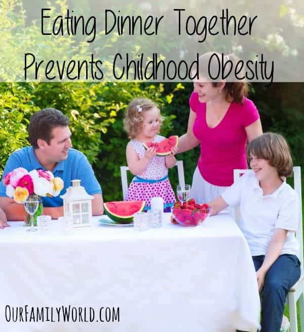 As parents we want to give our kids the best and healthiest life, and recent studies have shown that Eating Dinner Together Prevents Childhood Obesity