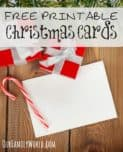 Looking for the cutest free printable Christmas cards to help you save money this holiday season? We've rounded up our favorites! Check them out!
