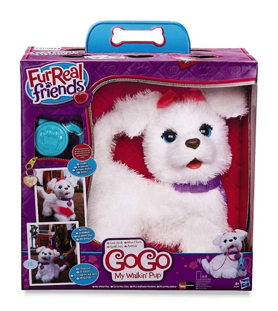 Kmart Fab 15 Holiday Toy List: FurReal Friends Get Up and GoGo My Walkin' Pup Pet by Hasbro