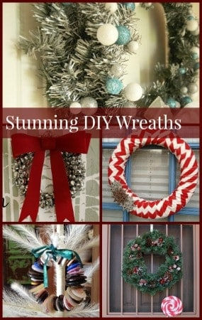Ready to start crafting some beautiful homemade Christmas decorations? Welcome guests to your home with these beautiful wreath projects!
