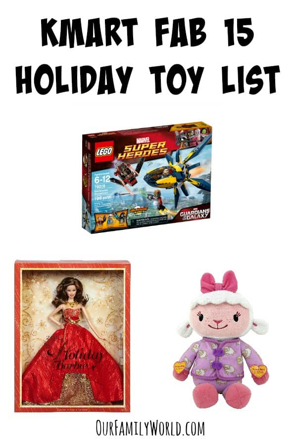 Make Life-Long Memories with the Kmart Fab 15 Holiday Toy List