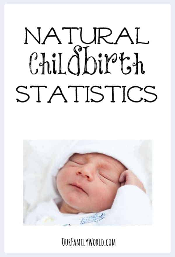 Natural Childbirth Statistics You Need to Know Before Heading to the Delivery Room